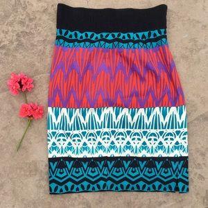 ✨Tracy Reese | Tribal Print Pencil Skirt